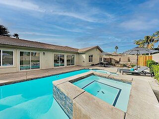 Freshly Updated North La Quinta Haven | Walled Pool, Spa & Firepit