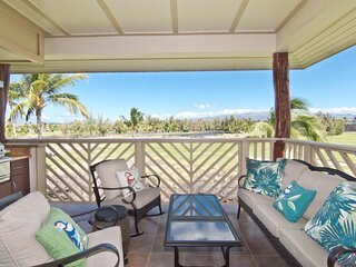 Waikoloa Beach Villas I33. Hilton Waikoloa Pool Pass for 2021. Top Floor , Golf