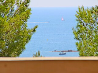 Cap Esterel village : 2 pieces mer terrasse couverte - C8 391la