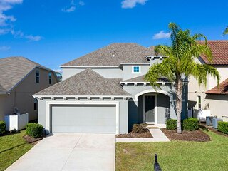 6 Bedroom, Beautiful, New, Champions Gate W.Haven