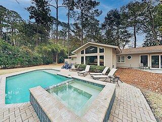 Sea Pines Home   Private Pool & Hot Tub   Near Beach, Golf & Harbour Town