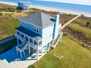 New Listing! Spacious Brand-New Home w/ Beach Boardwalk & Balconies