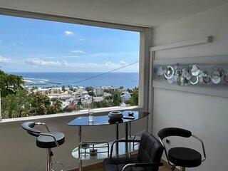 Appartement 4 personnes vue panoramique sur mer.