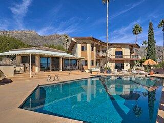 Tucson Retreat w/ Superb Mountain & City Views!