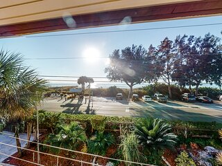 Ocean View Townhouse w/ WiFi, Central AC, & Shared Hot Tub - Snowbird-Friendly!