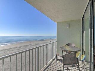 NEW! Myrtle Beach Oceanfront Condo: Resort Perks!