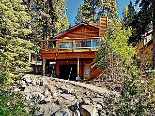 Forest Getaway | Mountain & Lake Views, 2 Decks & Hot Tub | Near Kings Beach