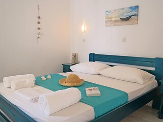 Naxos Sandy Beach - Seaside Cozy Double
