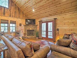 NEW! Rustic Cabin w/ Modern Amenities & Large Deck