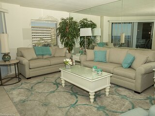 IR 316 Coastal Beauty in this 2 BR Sunset view condo with washer/dryer