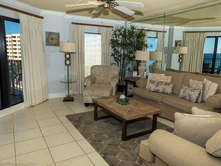 IR 310 is a 2 BR Gulf view with Washer Dryer over 1300 sf and Free Beach Set up