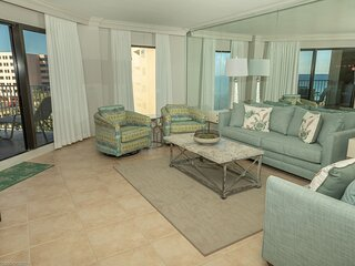 IR 412 is a Gulfview 2 BR that sleeps 6 and is over 1300 sf