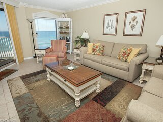 IR 305 is a beautifully updated Gulf front 2 BR with Washer/Dryer