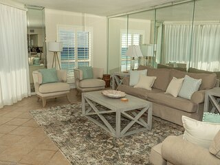 IR 205 is a 2 BR Gulf front - Large and Spacious with Washer/Dryer