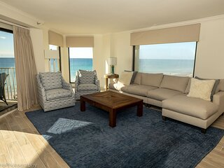 Inlet Reef 301 is an absolutely stunning 3 BR - completely remodeled Gulf Front