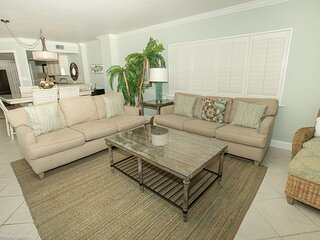 IR 308 is a spectacular 3 BR Gulf front with Free Beach Set up for 2