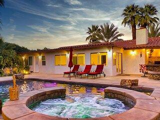 Gorgeous Palm Desert Oasis with Backyard Paradise, Pool, Spa & Private Casita