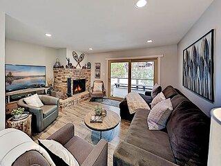 Dollar Point Home | Entertainer's Deck | Near Skylandia Beach & Ski Resorts
