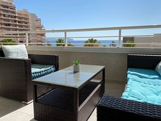 Apolo16 3B12 - Apartment at the beach with pool and sea views in Calpe