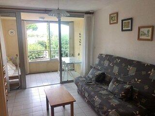 Appartement studio cabine - Résidence avec PISCINE - ARGELES SUR MER