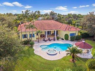 Vacation Farm Villa in South Miami Redlands