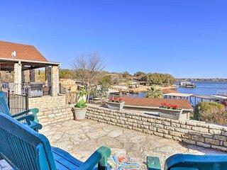 NEW! Waterfront Home on Private Lake Granbury Cove