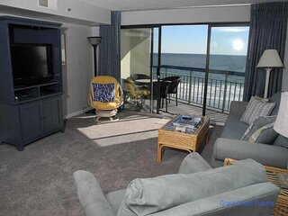 The Oceans 815! 1 Bedroom Oceanfront Condo! Book now for best rates!