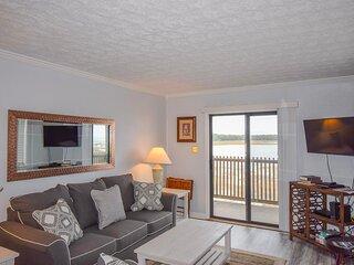 Inlet Point Villas Unit 4C! Waterway-View 2 Bedroom Condo in Cherry Grove!