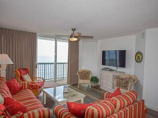 Ashworth Unit 1009! Stunning Ocean Front Condo! Book your get away today!