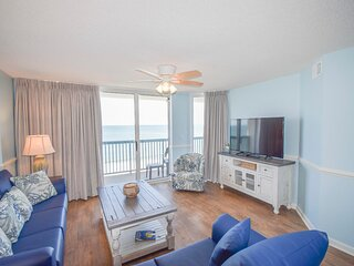 Ashworth Unit 804! Stunning Ocean Front Condo! Book your get away today!