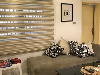 Affordable 1BR w/terrace+fast WIFI perfect for two