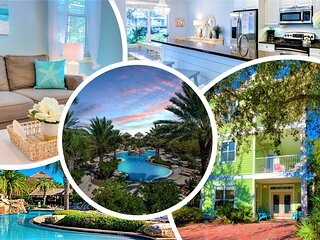 ★ Family Vacation HQ ★ Exclusive Lush Lagoon Pool! ★ Steps to Crystal Beach! ★