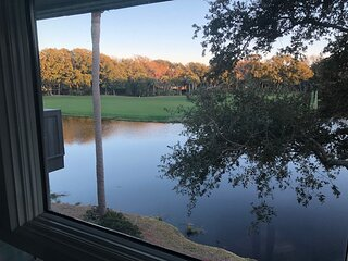 Golf Villa Kiawah 18th Hole Turtle Point Golf Course