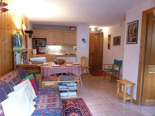 Appartement 2 pieces cabine pour 5 personnes situe dans un secteur calme