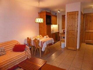Appartement 2 pieces cabine pour 6 personnes situe dans un secteur calme