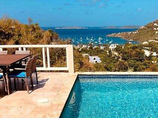 Seagrass Villa! Incredible Views! Interior Bedrooms!
