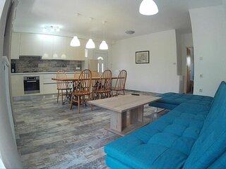 P3 Two-Bedroom Apartment with Terrace in Krk, Croatia - Ground Floor