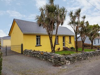 KATE'S COTTAGE, sea views, large garden near Knightstown, Valentia Island Ref