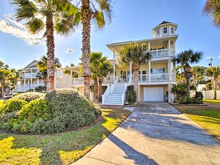 NEW! 'All Decked Out' - Lavish Tybee Island Escape