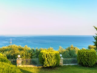 Koroni Zaga Beach- Seaside Luxury Villa Costiana