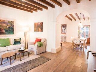 Bonito Mediterráneo, wifi, aire acondicionado, barbacoa, oasis en Santanyí