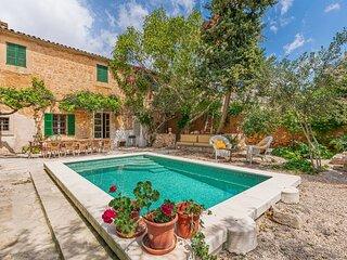 Villa Santanyí sueño de verano, piscina, wifi, parking, en el corazón de