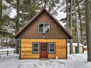 NEW! Big Arbor Vitae Lake Cabin: Fish, Boat & Hike