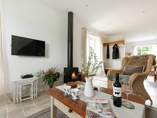 Furrow Barn is a wonderful property with contemporary interiors and rural views