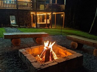 Byers Retreat 4b 4b NEW Cabin next to ATV trails at Wayne National Park!