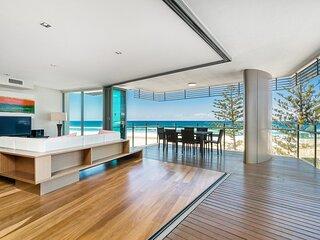 Kirra Wave 702 - For those seeking a luxury beachfront escape!