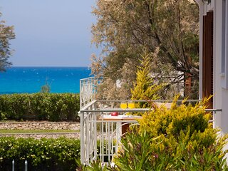 Aeriko-Ammos Beachfront Villa with Stunning View and Private Pool