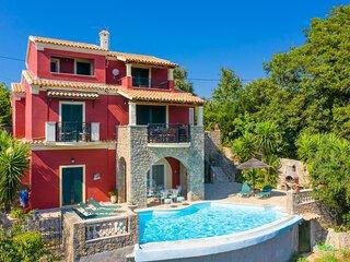 Villa Astarti: Large Private Pool, Sea Views, A/C, WiFi