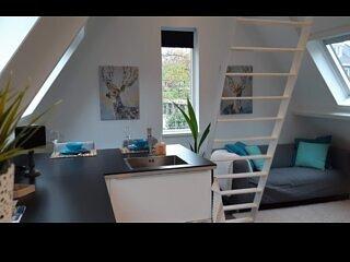 Lovely, bright Apartment Klein Waldeck (2 p.) in Velp, near Arnhem, vakantiewoning in Doesburg