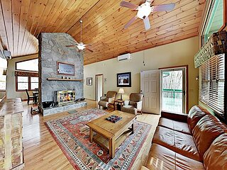 Private Mountain-View Escape | Peaceful 3+ Acres | Near Skiing, Golf, Lake
